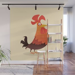It's Time, Rooster! Wall Mural