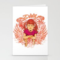 dirty dancing Stationery Cards featuring Dirty by Tshirt-Factory