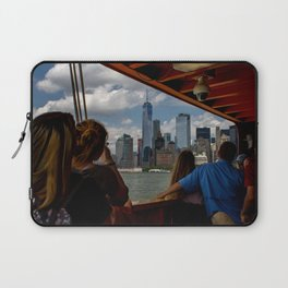 Freedom Tower & Tourists Laptop Sleeve