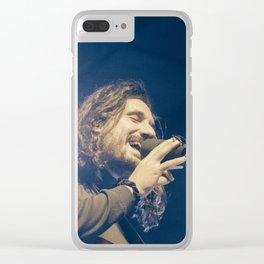 Timberwolf_03 Clear iPhone Case