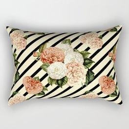 Chrysanthemum Rain Rectangular Pillow