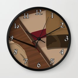 Paper Cuts Wall Clock