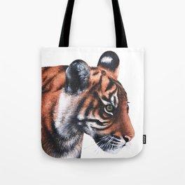 Sumatran Tiger Cub Tote Bag
