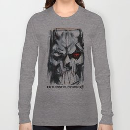 Futuristic Cyborg 4 Long Sleeve T-shirt
