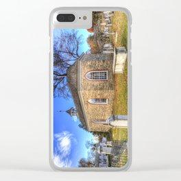 Old Dutch Church Of Sleepy Hollow Clear iPhone Case