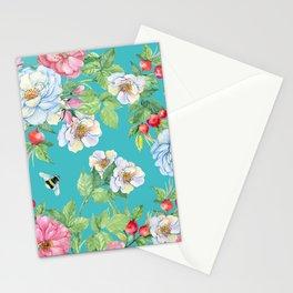 Vintage Floral Pattern No. 3 Stationery Cards