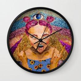 WATEVA 4 EVA Wall Clock