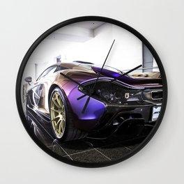 McLaren P1 - Cerberus Pearl - Rear Angle Left Wall Clock
