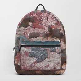 Cracking Paint and Rust Abstract Backpack