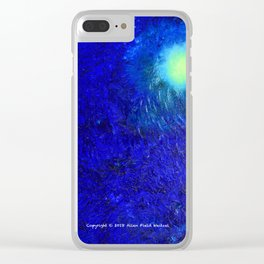 """""""Forming The Pacific Rim"""" Oil Painting Clear iPhone Case"""