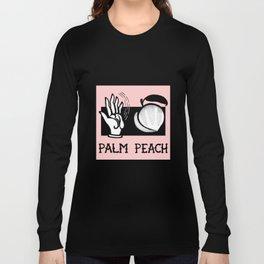 Palm Peach Long Sleeve T-shirt
