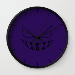 Devious Grimmer Wall Clock