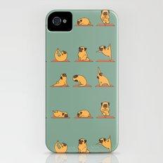Pug Yoga iPhone (4, 4s) Slim Case