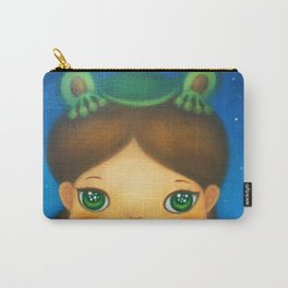 FROG PLANET Carry-All Pouch