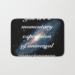 Momentary Expression of Universal Consciousness Bath Mat