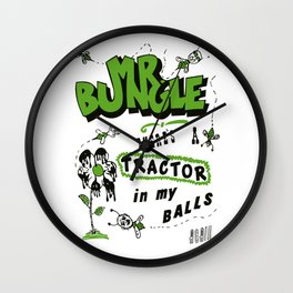 mr bungle Wall Clock