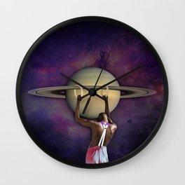 S A T U R N Wall Clock