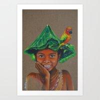 Aeta Art Print