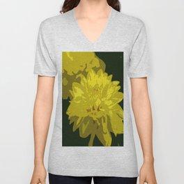 Mellow Yellow Unisex V-Neck