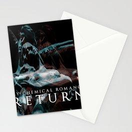 my chemical return colour romance 2020 agustus Stationery Cards