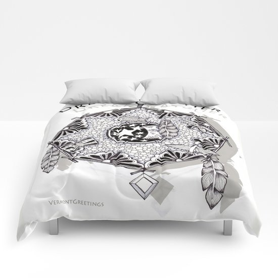 Zentangle Dreamcatcher Comforters