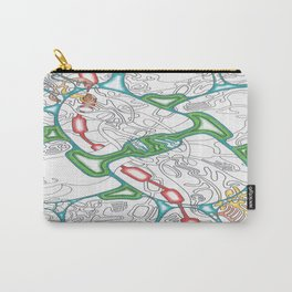 Emerald Reflection Carry-All Pouch