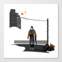 The Division Agent Canvas Print