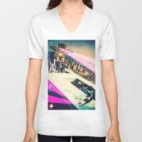 kill la kill V-neck T-shirts featuring Kill! Kill! by LA CRISE