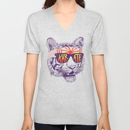 Karate Tiger Unisex V-Neck