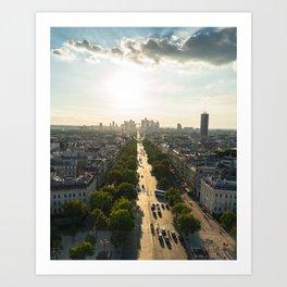 Arc de Triomphe III Art Print