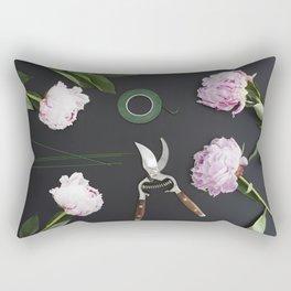 Florist workplace and accessories Rectangular Pillow