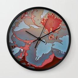 Azalea 1 Wall Clock