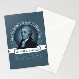 Alexander Hamilton Quote Stationery Cards