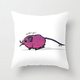 I Love (Elephant) Shrew Throw Pillow