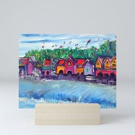 Boathouse Row Mini Art Print