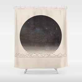 Spacescape Variant Shower Curtain