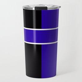 Team Colors 6...Blue,black Travel Mug