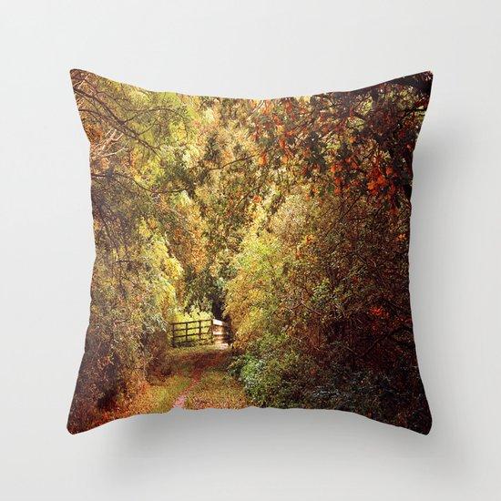 Autumn Weavers Throw Pillow