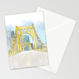 Roberto Clemente Bridge Stationery Cards