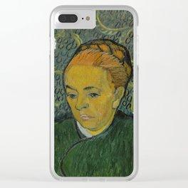La Berceuse (Portrait of Madame Roulin) Clear iPhone Case