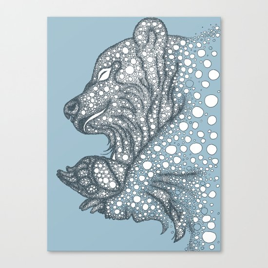 Winter sleep Canvas Print