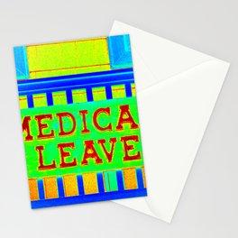 Medical Leave Art Stationery Cards