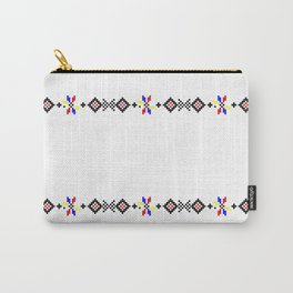 romanian folk motifs Carry-All Pouch