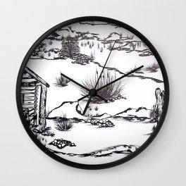 Original in B/W Wall Clock