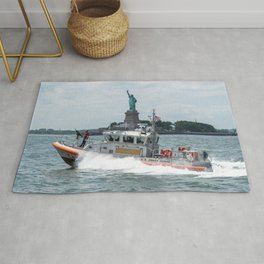Coast Guard and Liberty Rug
