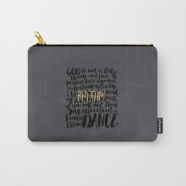 Dance Carry-All Pouch