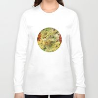 floral pattern Long Sleeve T-shirts featuring Floral Pattern by Klara Acel