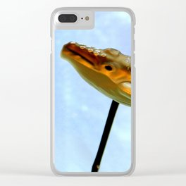 I Had A Hunch-back Clear iPhone Case