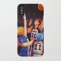 kuroko iPhone & iPod Cases featuring Jump by AndytheLemon