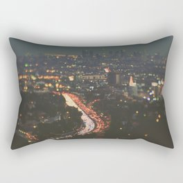 L.A. Skyline. Stardust Rectangular Pillow
